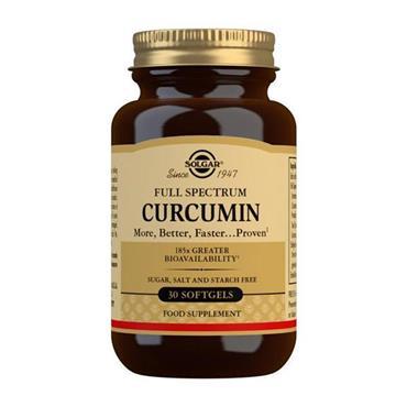 SOLGAR FULL SPECTRUM CURCUMIN 30'S