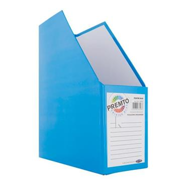 PREMTO MAGAZINE ORGANIZER - PRINTER BLUE