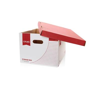 CONCEPT STORAGE BOX SIZE 38.7x32.7x25CM
