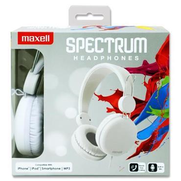 SPECTRUM HEAD PHONES - WHITE