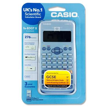 Casio Fx-83gtx Scientific 276 Functions Calculator - Blue
