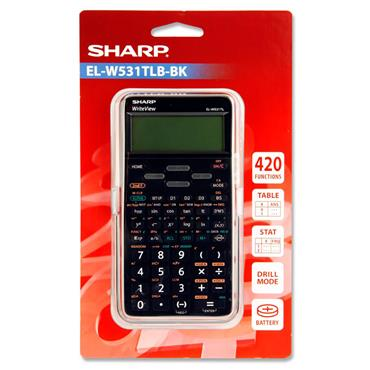Sharp El-w531t Write View Scientific Calculator
