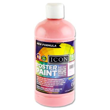 Icon Poster Paint 500ml - Pink