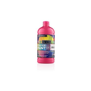 Icon Poster Paint 500ml - Magenta