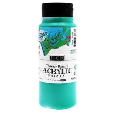 ICON ACRYLIC PAINT 500ml - GREEN