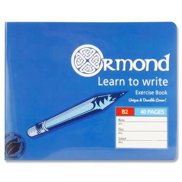 Ormond 40pg B2 Durable Cover Learn To Write Copy Book