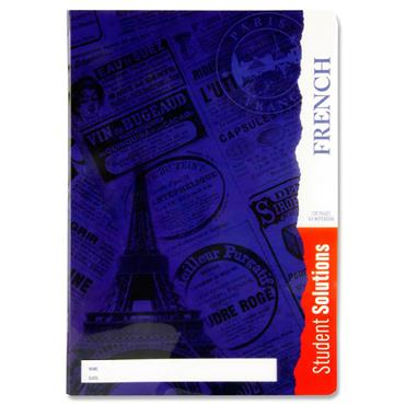 Student Solutions A4 120pg Durable Cover Manuscript Book - French