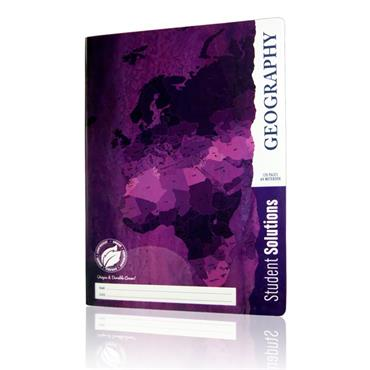 Student Solutions A4 120pg Durable Cover Manuscript Book - Geography