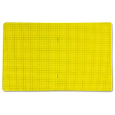 Ormond 88pg C3 Visual Memory Aid Durable Cover Sum Copy Book - Yellow