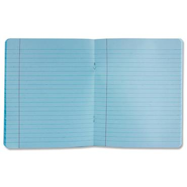Ormond 88pg A11 Visual Memory Aid Durable Cover Copy Book - Blue