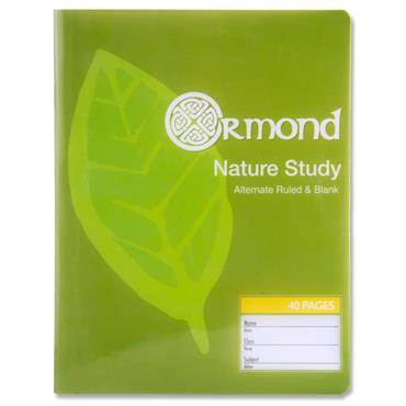 Ormond 40pg Durable Cover Nature Study Copy