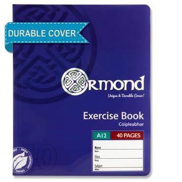 Ormond 40pg A12 Durable Cover Copy Book