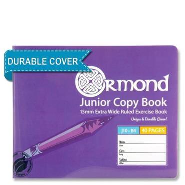 Ormond 40pg J10 B4 Durable Cover Junior Copy Book