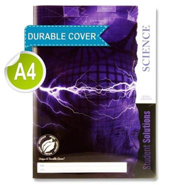 Student Solutions A4 120pg Durable Cover Science Book