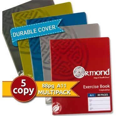 Ormond Pkt.5 A11 88pg Durable Cover Copy Book - Boys