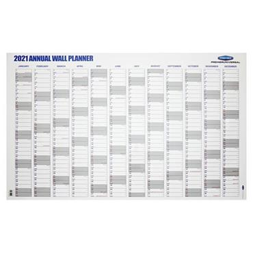 PREMIER UNIVERSAL 2021 ANNUAL WALL PLANNER