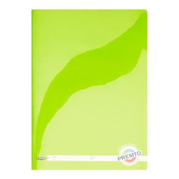 PREMTO A4 120pg MANUSCRIPT BOOK DURABLE COVER -  CATERPILLAR GREEN