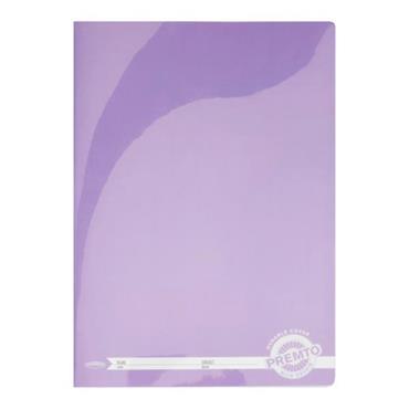 PREMTO A4 120pg MANUSCRIPT BOOK DURABLE COVER -  WILD ORCHID