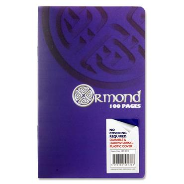 Ormond 100pg Durable Cover Notebook 10x16cm