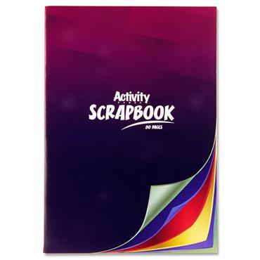 Premier Activity A4 80pg Scrapbook