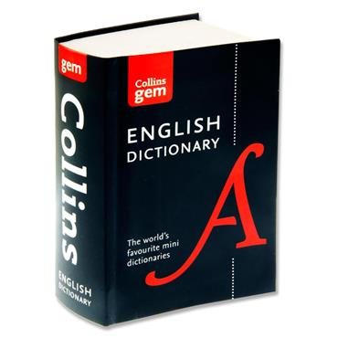 Collins Gem Dictionary - English