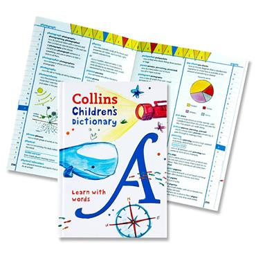 Collins Childrens Dictionary - Learn With Words