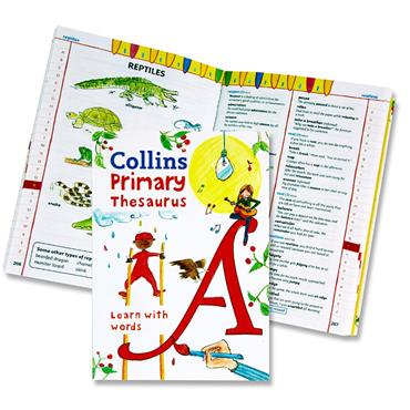 Collins Primary Thesaurus - Learn With Words
