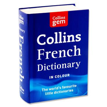 Collins Gem Dictionary - French