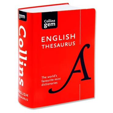 Collins Gem English Thesaurus