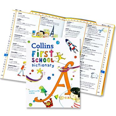 Collins First School Dictionary - Learn With Words