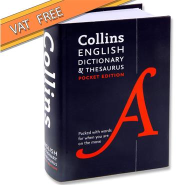 Collins New Edition Pocket Dictionary & Thesaurus