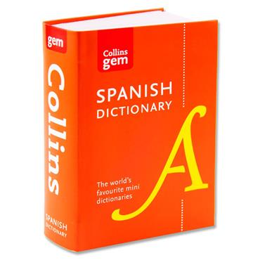 Collins Gem Dictionary - Spanish