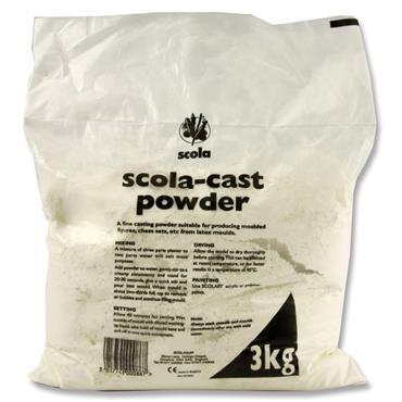 Scola 3kg Bag Of Casting Powder