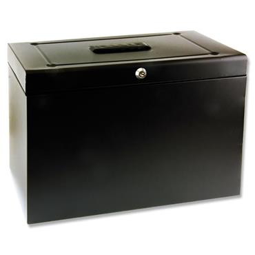 Concept Foolscap Home Office File - Black