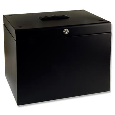 Concept A4 Metal Home Office File - Black