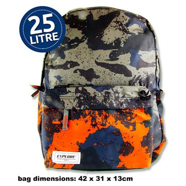 Explore 25ltr Backpack - Camouflage