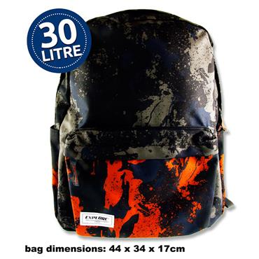 EXPLORE 30ltr BACKPACK - CAMOUFLAGE
