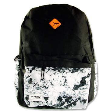 Explore 30ltr Backpack - Black Abstract Hoop