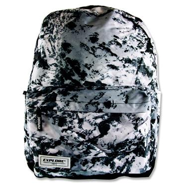 Explore 30ltr Backpack - Black Abstract Full