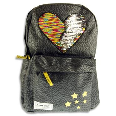 Explore 20ltr Backpack - Sequin Hearts