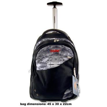 Explore Trolley Backpack - Crystal & Black