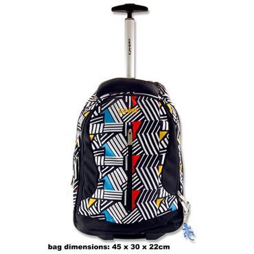 Explore Trolley Backpack - De Stijl