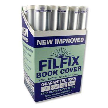Filfix Roll Book Cover - 5m X 33cm