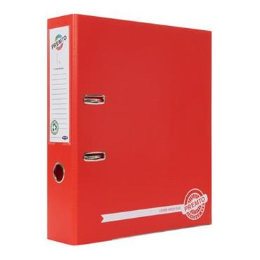 PREMTO A4 PP LEVER ARCH FILE - KETCHUP RED