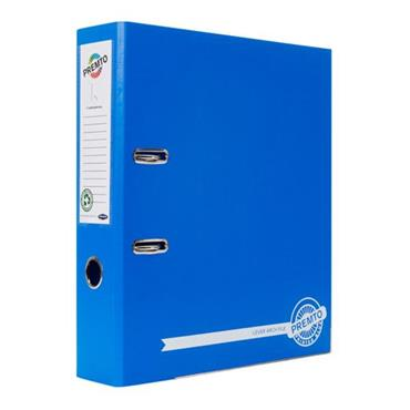 PREMTO A4 PP LEVER ARCH FILE - PRINTER BLUE