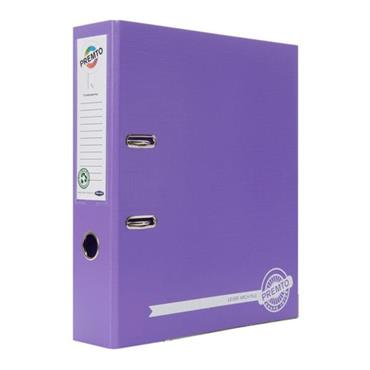 PREMTO A4 PP LEVER ARCH FILE - GRAPE JUICE