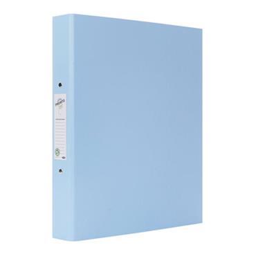 PREMTO PASTEL A4 PP RING BINDER - CORNFLOWER BLUE