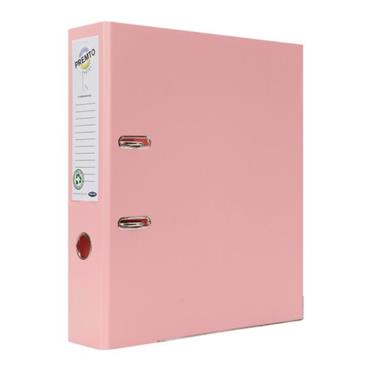 PREMTO PASTEL A4 PP LEVER ARCH FILE - PINK SHERBET