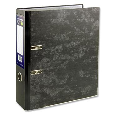 Premier Office Economy A4 Lever Arch File - Marble