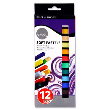 Daler Rowney Simply...box 12 Soft Pastels
